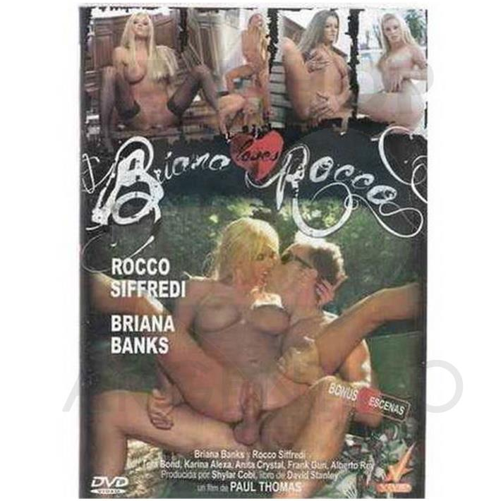 DVD XXX Briana Loves Rocco