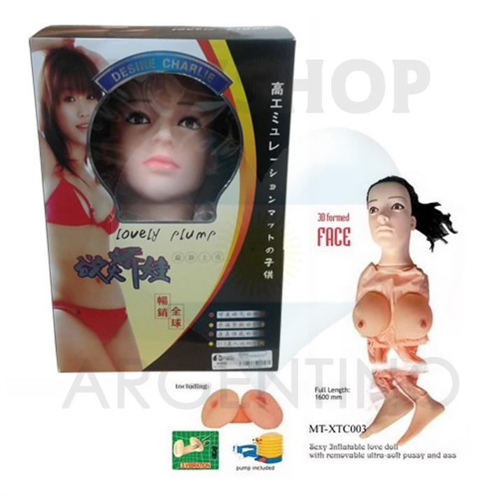 Muñeca inflable Real Love doll 3D face